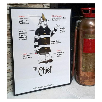 Gettin Salty The Chief Fire Print 18