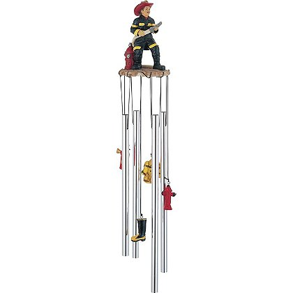 G. S. Chen Fireman on Duty Wind Chime