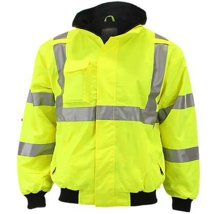 The Navigator High Visibility Jacket w/ Reflective Trim