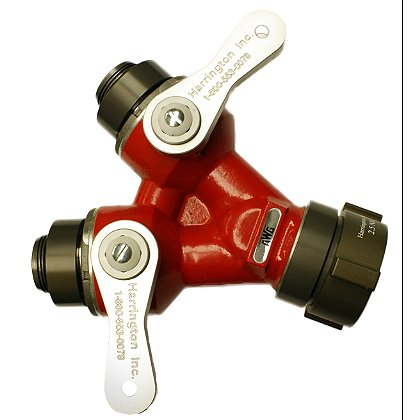 Harrington 2-Way Ball Valve (Leader Line Wye)
