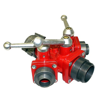 Harrington Small 3-Way Ball Valve or Wye (Water Thief)