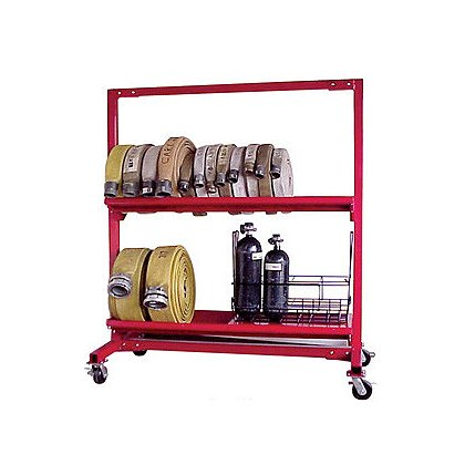 Groves Inc. Mobile Hose Carts, Two or Three Tier