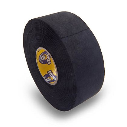 Howies Premium Black Cloth Hockey Tape, 1.5
