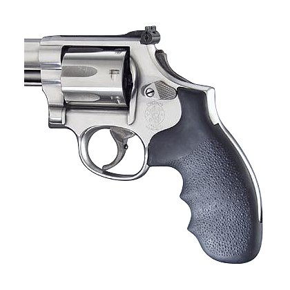 Hogue Nylon S&W K or L Round Butt Black Monogrip