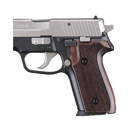 Hogue SIG Sauer P228, P229 Checkered Rosewood Grip