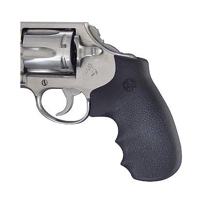 Hogue Colt Detective Special / Diamondback Black Rubber Monogrip