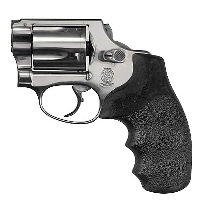 Hogue S&W J Frame Round Butt Black Nylon Monogrip