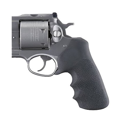Hogue Ruger GP100/Super Redhawk Black Rubber Tamer Grip