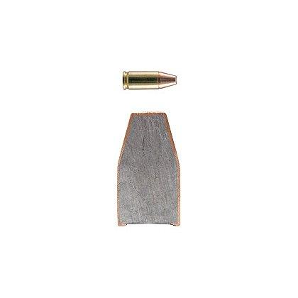 Hornady 9mm Luger 135 gr.  Brass FMJ Rounds, Box of 50