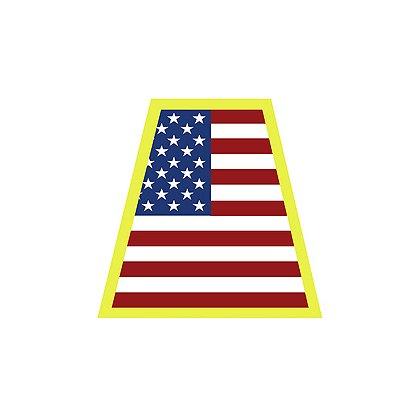 HelmeTets Helmet Tetrahedron, American Flag