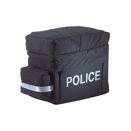 Inertia Designs Police (P) Bike Rack Trunk w/ Pockets