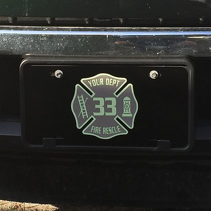 Identifire: Custom License Plate