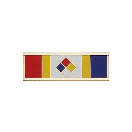 Blackinton Commendation Bar Hazardous Materials Certified