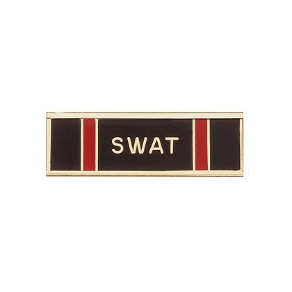 Blackinton Commendation Bar SWAT Certification
