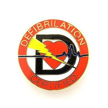 Defibrillation Certified Pin