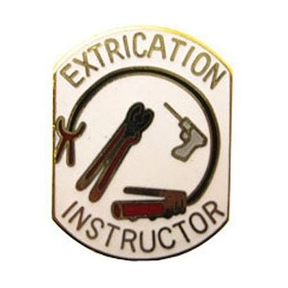 Extrication Instructor Pin