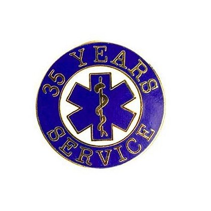 EMS 35 Years of Service Pin