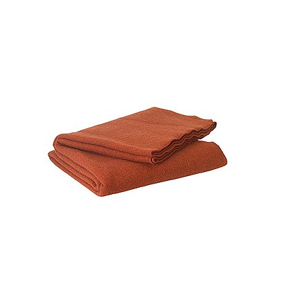 Junkin Wool Fire Blanket, Dark Red