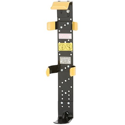 Zico 1066 Knock-Down Bracket with Low Profile High Cycle Clips Backplate, Short Footplate No Strap, 6.1