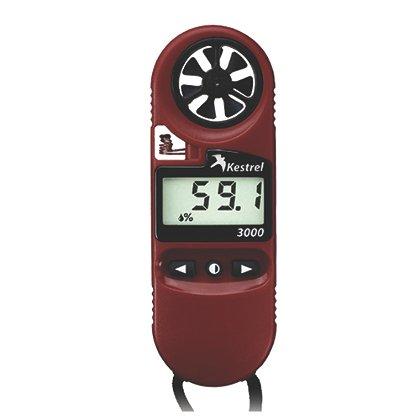 Kestrel 3000 Pocket Weather Meter, Red