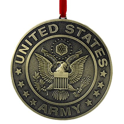 U.S. Army Metal Ornament