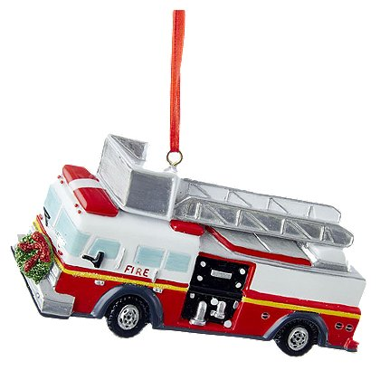 Kurt S. Adler Fire Truck Ornament