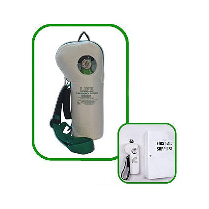 LIFE Corp SoftPac Lightweight Oxygen with 250 Liter Aluminum