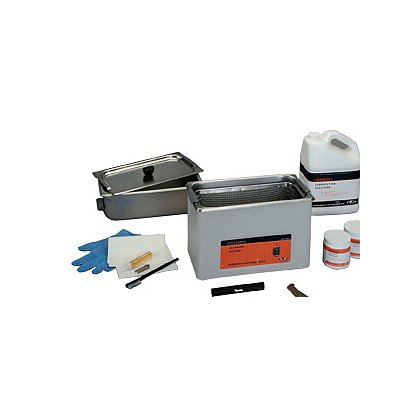 L&R Ultrasonics HCS 200 Handgun Cleaning System, Complete Set-up
