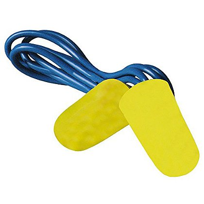 3M Peltor Blasts Corded Disposable Earplugs, 2-pk NRR 29 dB