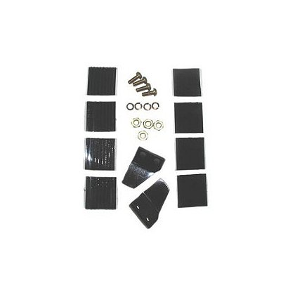 Cairns Impact Cap Retention Kit, Tabs, Screws, VELCRO® brand for 1010 & 1000 Helmet