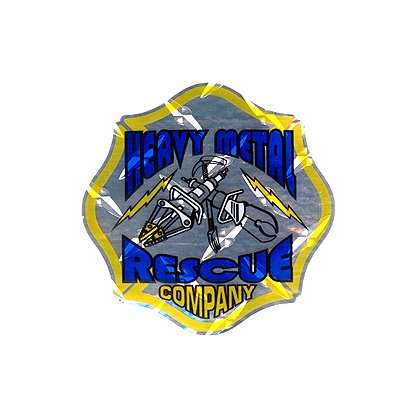 Exclusive Maltese Cross Heavy Metal Rescue Company Decal
