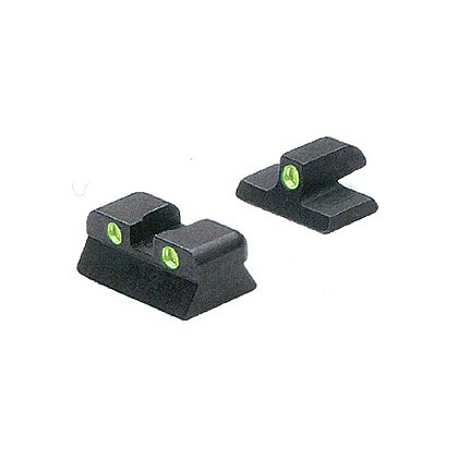 Meprolight Browning Hi-Power MkIII, TRU-DOT Fixed Night Sight Set