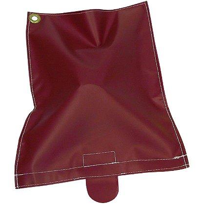 Zico Mask Bag, Red Velcro Vinyl