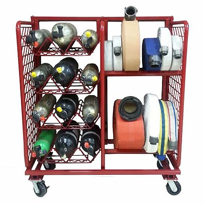 Groves Inc. Ready Rack Hose and Cylinder Multiple Purpose Storage System