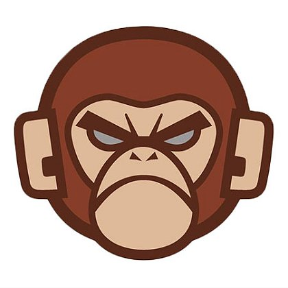 MIL-SPEC Monkey Monkey Head Logo