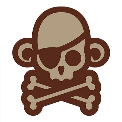 MIL-SPEC Monkey Skullmonkey Pirate