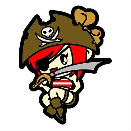 MIL-SPEC Monkey Pirate Girl
