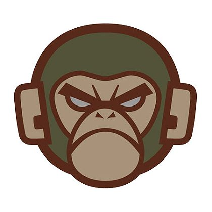 MIL-SPEC Monkey Monkey Head PVC