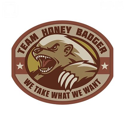 MIL-SPEC Monkey Honey Badger PVC