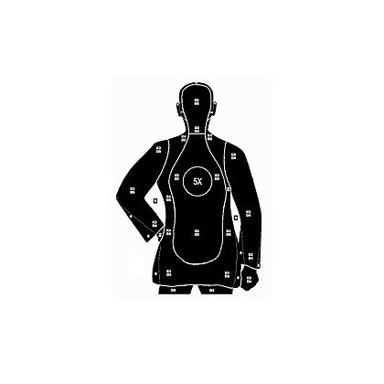National Target Law Enforcement Silhouette, 27