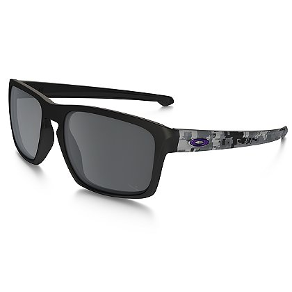 Oakley SI Infinite Hero Sliver Digital Camo with Black Iridium Lenses