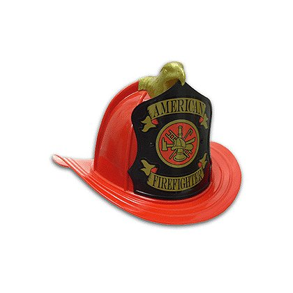 TheFireStore Old Fire Hat, Replica Fire Helmet w/High Eagle & Front and Adjustable Suspension