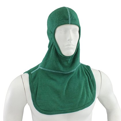Majestic PAC II Emerald Green Hood, NFPA 1971