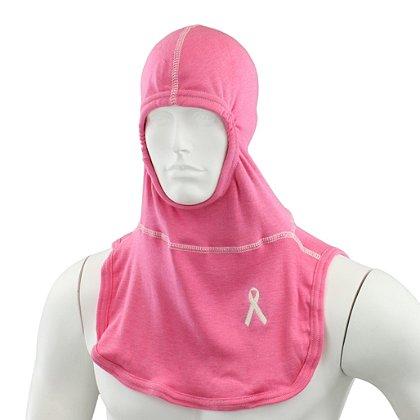 Majestic PAC II Nomex Blend Hood, Pink w/ Ribbon, NFPA 1971