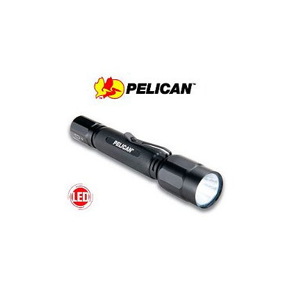 Pelican 2360 LED Tactical Flashlight, 2 AA Batteries, 250 Lumens, 6.2in Long