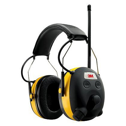 Peltor 3M Worktunes Hearing Protector with AM/FM Radio