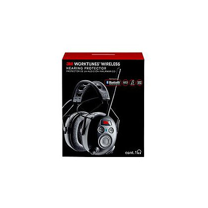 Peltor 3M Worktunes Wireless Hearing Protector with Bluetooth
