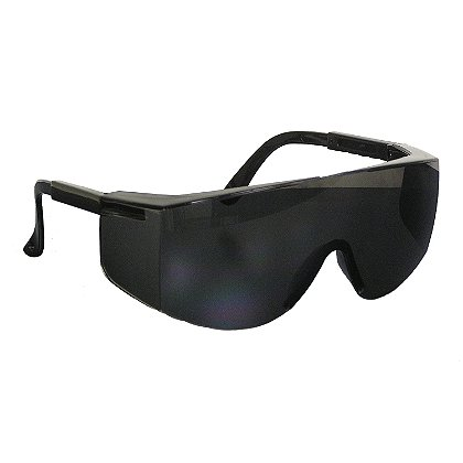 PIP Bouton Zenon Z28 Over-the-Glass Eyewear, Polycarbonate Lens, Adjustable Length Black Temples, Molded Nose Bridge