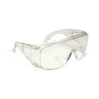 PIP Bouton Scout OTG Eyewear, Visitor Specs, Polycarbonate Unilens, Anti-Scratch, Molded Nose Bridge
