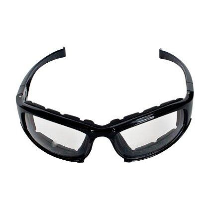 PIP Bouton Cefiro Eyewear/Dust Goggle, Polycarbonate Lens, Anti-Scratch & Anti-Fog Black Full Frame with Foam Padding